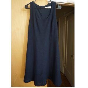 LOFT Size 8 - Blue Sleeveless Dress